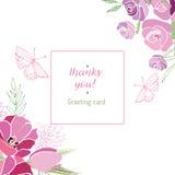 Sommerblumenzusammensetzung Stockfotografie