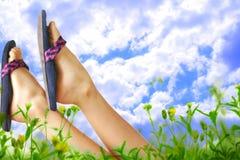 Sommerentspannung Lizenzfreies Stockfoto