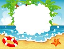 Sommerfahne Lizenzfreie Stockbilder