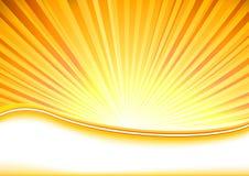Sommerfahne voll von Shine vektor abbildung