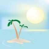 Sommerfeierkarte Lizenzfreie Stockfotos