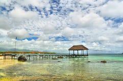 Sommerferien bei Mauritius Stockfotografie