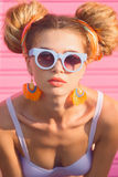 Sommerferien-Modekonzept Lizenzfreies Stockbild
