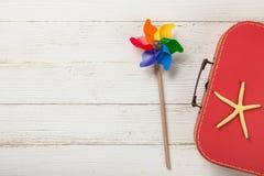 Sommerferien und Reisehintergrund Stockfoto