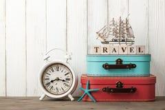 Sommerferien und Reisehintergrund stockfotografie