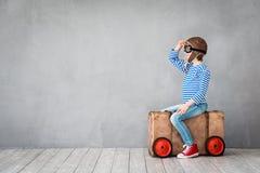 Sommerferien und Reisekonzept Stockfotos