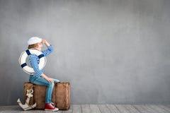 Sommerferien und Reisekonzept Lizenzfreie Stockfotos