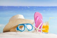 Sommerferienhintergrund Lizenzfreie Stockfotos
