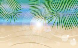 Sommerferienkarte Stockbilder