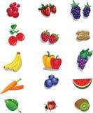 Sommerfrüchte Lizenzfreies Stockfoto