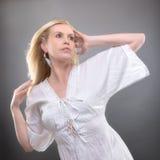 Sommerfrau Stockbild