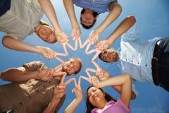 Sommerfreunde Lizenzfreies Stockfoto