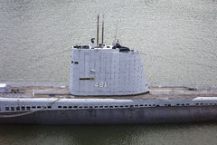 SOMMERGIBILE DI USS REQUIN Fotografia Stock