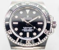 Sommergibilista di Rolex su fondo bianco Fotografia Stock