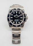 Sommergibilista di Rolex su fondo bianco Immagine Stock Libera da Diritti