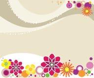 Sommergrußkarte. Stockfoto