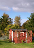 Sommerhaus Lizenzfreies Stockfoto