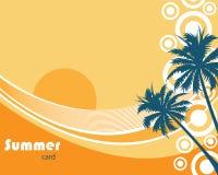 Sommerhintergrund vektor abbildung