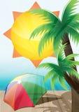 Sommerhintergrund Lizenzfreie Stockbilder