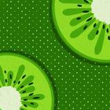 Sommerhintergrund mit Kiwi Lizenzfreie Stockbilder