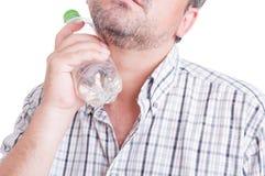 Sommerhitze oder Hitzewellenkonzept Lizenzfreies Stockfoto