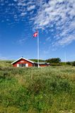 Sommerhus. A sommerhus in Denmark shot in portrait mode Royalty Free Stock Photos