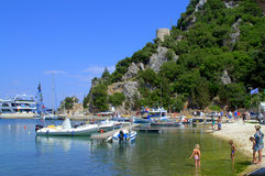 Sommerinsel-Buchtfeiertag Stockbilder