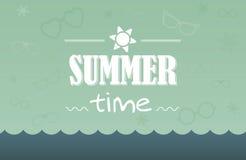 Sommerkarte Stockfotos