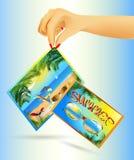 Sommerkarten Lizenzfreies Stockbild