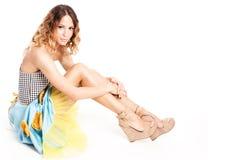 Sommerkleid Stockfoto