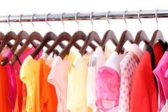 Sommerkleidung Lizenzfreies Stockfoto