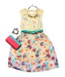 Sommerkollektion Kleidung für Frauen Lizenzfreie Stockfotos