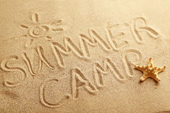 Sommerlager Stockfotos