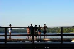 Sommerlager Stockbild