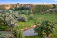 Sommerlandschaft, Burunday, Almaty, Kasachstan Lizenzfreie Stockbilder