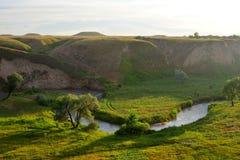 Sommerlandschaft, Burunday, Almaty, Kasachstan Lizenzfreie Stockfotografie