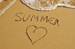 Sommerliebe lizenzfreie stockbilder
