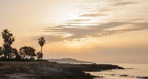 Sommermorgen in Majorca-Insel stockbild