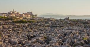 Sommermorgen in Majorca-Insel stockbilder