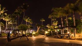 Sommernacht auf der Insel von Gran Canaria Spanien stockbilder