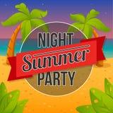 Sommernachtpartei Lizenzfreies Stockbild