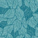 Sommernatur-Dschungeldruck Exotische Anlage Tropisches Muster, Palmblätter nahtlos vektor abbildung