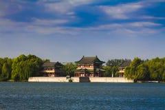 Sommerpalast-Peking-Porzellan Stockfoto