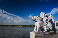Sommerpalast-Peking-Porzellan Lizenzfreie Stockfotos