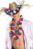 Sommerparty Stockbild
