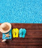 Sommerpool Stockbild