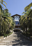 Sommerreise in Abchasien anblick Lizenzfreies Stockbild