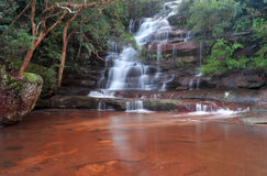 Sommersby falls waterfall scenic view stock photography