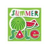 Sommerschlussverkauf-Konzept Stockbilder