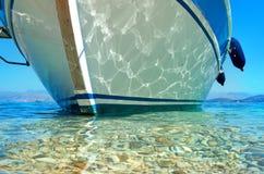Sommerseeschiff stockfoto
